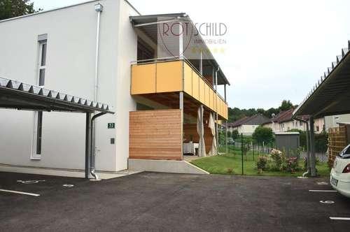 Grüne Stadtrandlage von Graz! Energiearme kleine feine Wohnung mit Terrasse,Garten. Anleger geeignet
