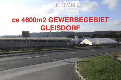 attraktiver Gewerbegrund 4600m2 in Top Lage GLEISDORF