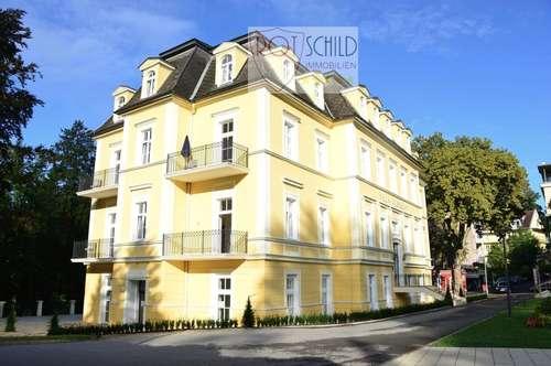 Sensationelle Altbau Wohnung in der Villa Albrecht, 3 Balkone, 2 SZ, barrierefrei. Ab 01.04.19.