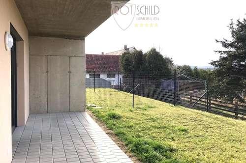 neue hübsche Mietwohnung mit Garten in Gniebing, 60m2, 2 Zimmer, Küche, Carport
