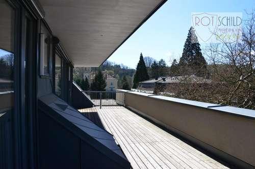 Extravagante Maisonnette Wohnung mit Traumblick! Neue helle 4 Zimmer, 35m2 uneinsehbare Terrasse !
