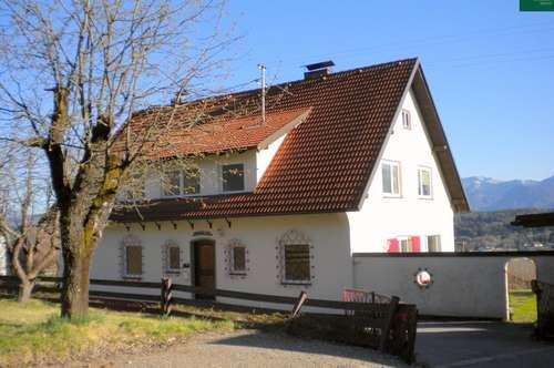 Erdgeschoß Landhaus mit Garten und Wörthersee-Blick