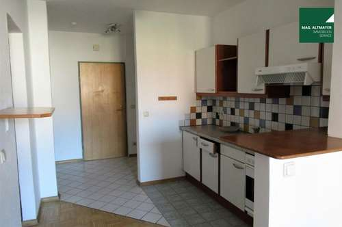 Stadtwohnung mit Pfiff : 50 m² mit 2,5 Zimmern Nähe Infineon