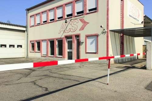 Firmenstandort Fischamend Bestlage - Halle/Produktion, Grund, Büro