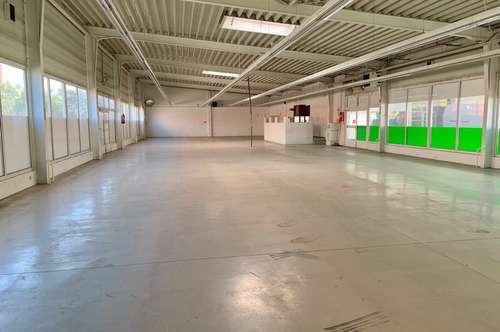 475 m2 Halle mit großem Außenbereich, Parkplätze - vielseitig verwendbar! Sofortbezug!