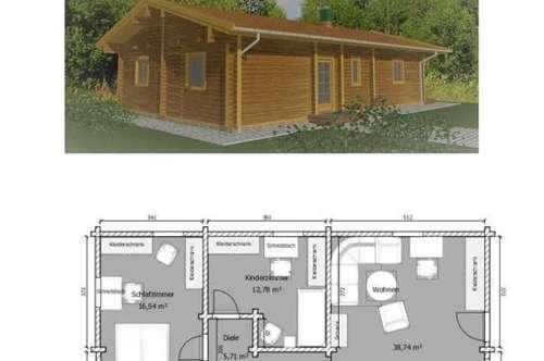 Neubau-Haus inkl. Bodenplatte und Grundstück