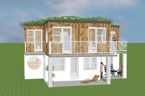 Modernes Aktions-Haus für Familien