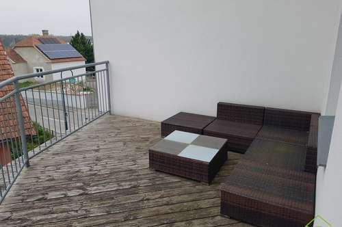 neuwertige Mietwohnung mit großzügiger Terrasse