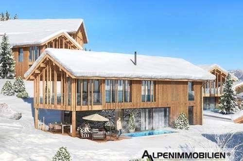 Herzenswunsch Chalets - Ski-in/Ski-out - privater Spa-Bereich & Außenpool