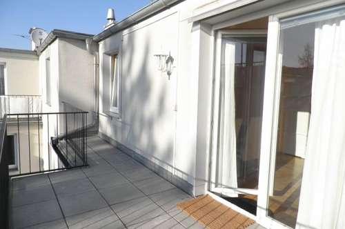 Einzimmerwohnung mit Terrasse in Bahnhof-Nähe!