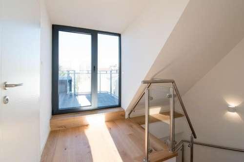 LUXUS AUF 2 EBENEN! 3-Zimmer Wohnung mit 2 Terrassen und Gloriette-Blick!