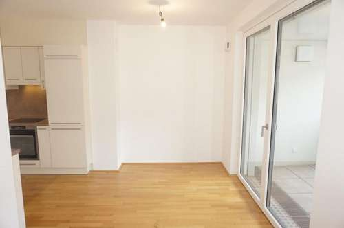 Neuwertige 2-Zimmer-Wohnung mit Loggia!