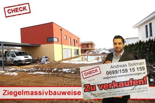 Preisreduktion! Neubau-Doppelhaushälfte in Ziegelmassivbauweise in Seiersberg!