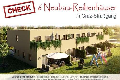 ERSTBEZUG! Neubau-Reihenhaus in Ziegelmassivbauweise in Graz-Straßgang!
