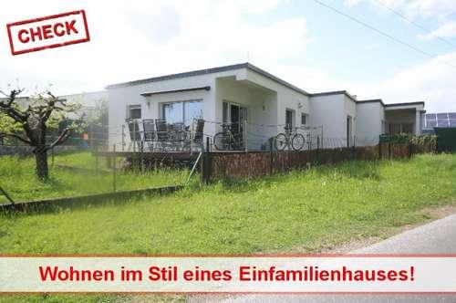 Eigentumwohnung im Stil eines Hauses in Graz-Puntigam