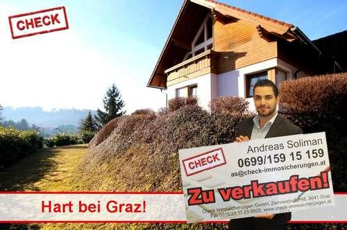 Einfamilienhaus mit Fernblick in Hart bei Graz!