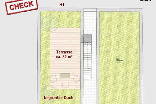 Neubau-Doppelhaus mit Dachterrasse in Unterpremstätten!