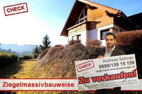 Top Zustand! Einfamilienhaus mit Fernblick in Hart bei Graz!