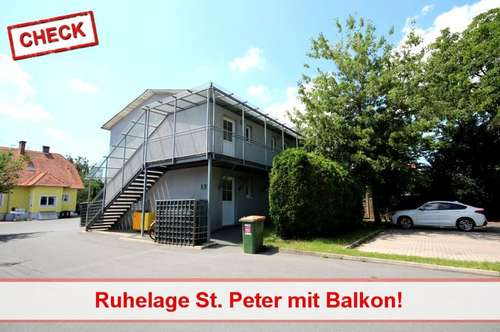 Garconniere mit Balkon in guter Lage Graz-St. Peter!