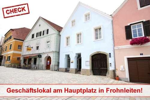 Top Lage! Geschäftslokal am Hauptplatz Frohnleiten!