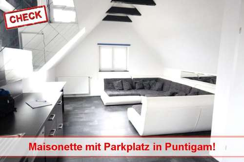 Wohnung mit Garten und Parkplatz - Nähe Einkaufspark Puntigam!