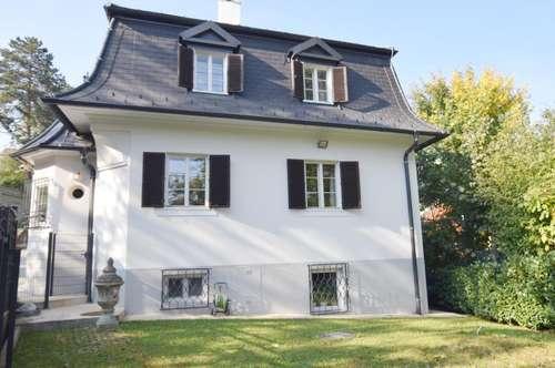 Repräsentative Residenz in wunderschöner Grünlage, moderner Wohnkomfort in historischem Gebäude