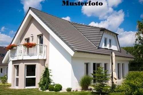+ Einfamilienhaus mit Holzschuppen +