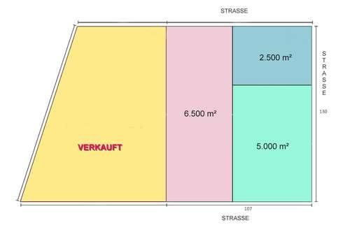 SELTENHEIT - Betriebsbaugrund 2.500 m² - 1220 Wien Bereich Großenzersdorfer Straße