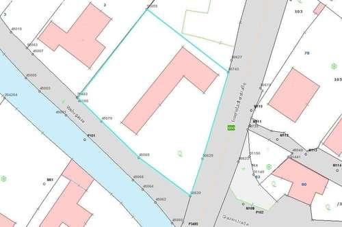 Baugrundstück mit Althausbestand - Stop & Go Geschäftslage - Oberwart