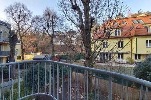 DIE perfekt Singlewohnung - Einraumwohnung mit Balkon und Grünblick in Neuwaldegg