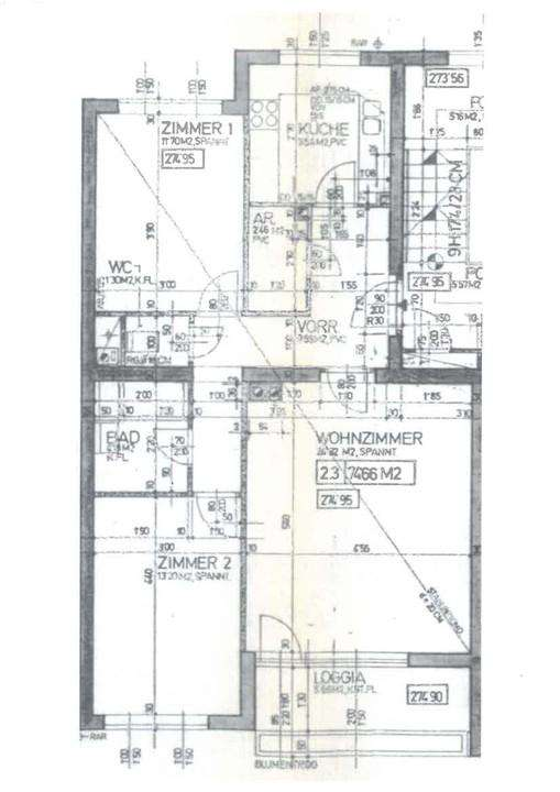 3-Zimmer-Wohnung in Wiener Neustadt, Dietrichgasse 12c/2/3