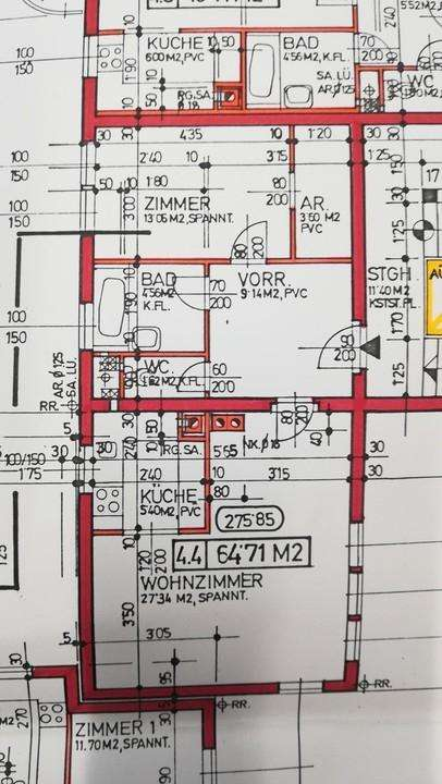 2-Zimmer-Wohnung in Wiener Neustadt, Dietrichgasse 12a/4/4