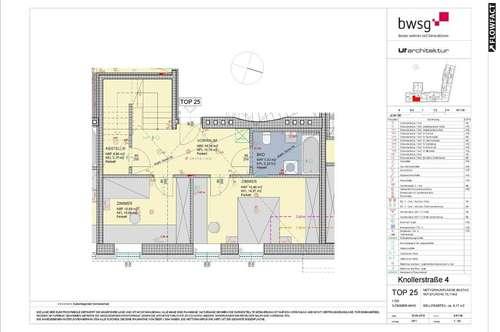 3-Zimmer-Dachgeschosswohnung in Innsbruck, Knollerstraße 4/25 (Eigentum)