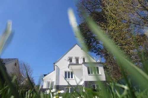 Einfamilienhaus im Grünen mit Wienblick