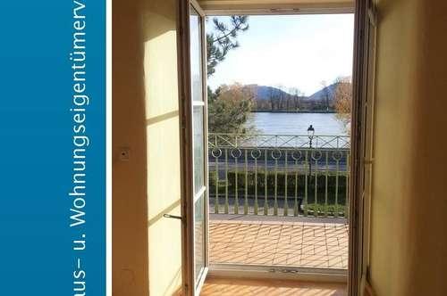 1 Zimmerwohnung mit Balkon & Ausblick auf Stift Göttweig