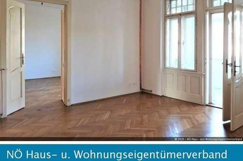 Provisionsfrei! - Altbauwohnung in St. Pölten zu vermieten - 90m² - 3 Zimmer