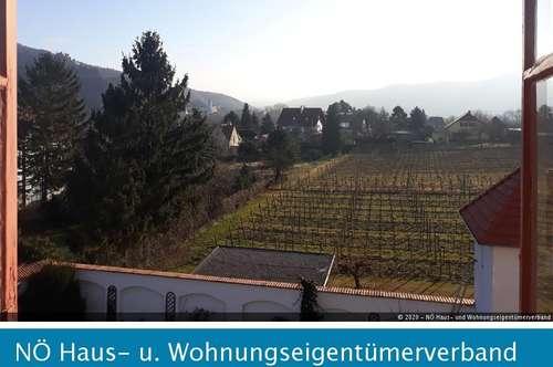 100m² Mietwohnung im Schloss von Rossatz mit Ausblick auf Dürnstein
