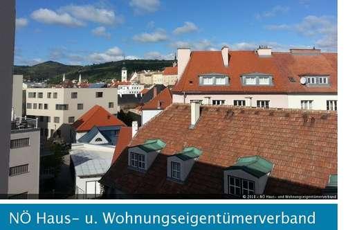 66,88 m² Wohnung mit Ausblick über die Dächer von Krems