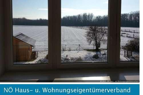 Pärchenhit in Rohrendorf - 3 Zimmerwohnung in Ruhelage und Fernblick!