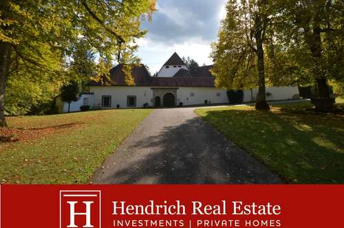 Saniertes Renaissance-Schloss in Oberösterreich: 50 km von Linz