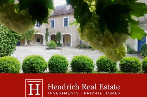 Romantisches Wohnschloss mit schönem Innenhof
