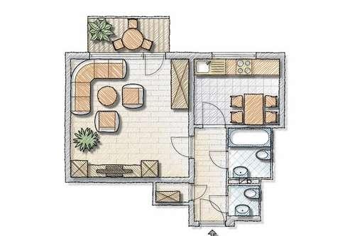 Ehemalige Hausbesorgerwohnung zu vermieten