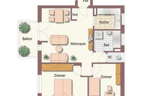 3 Zimmer Mietwohnung