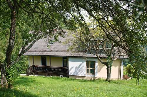 Landhaus Idylle - Höhenlage Nähe Stift Rein  Sonne - paradiesische Ruhe -    9.000 m² Naturgrundstück
