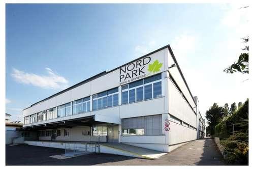 "Lager im Erdgeschoß im Gewerbeobjekt ""Nordpark"" zu mieten - 1210 Wien"