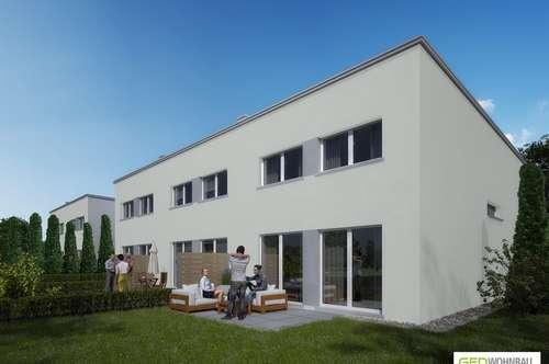 Moderne Doppelhaushälfte mit Garten Top A1 - zum Wohlfühlen - schlüsselfertig & provisionsfrei