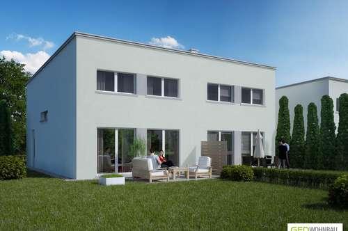 Großzügige Doppelhaushälfte mit Garten - schlüsselfertig und provisionsfrei - Top D1