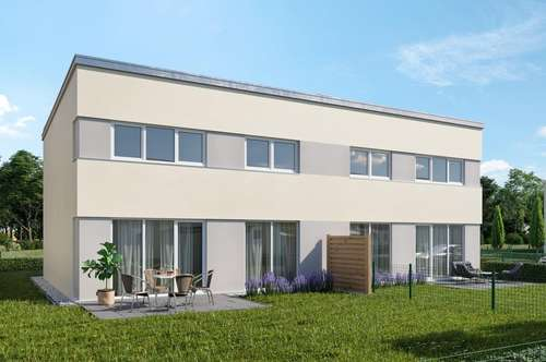 SOFORTIGES EIGENTUM! Traumhafte Doppelhaushälfte in Passivbauweise Top C1 mit Top-Ausstattung in Grünruhelage in Wiener Neustadt - schlüsselfertig & provisionsfrei