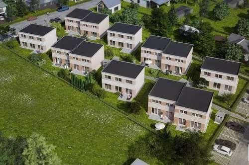 ALLERLETZTES HAUS!!!!! SOFORTIGES EIGENTUM zum Spitzenpreis!! Moderne Doppelhaushälfte in Passivbauweise in Ternitz-Pottschach - schlüsselfertig & provisionsfrei