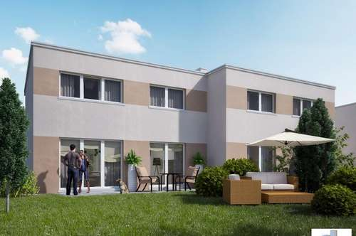 Moderne Doppelhaushälfte mit Top-Ausstattung in Grünruhelage Top E1 - schlüsselfertig & provisionsfrei - SOFORTIGES EIGENTUM